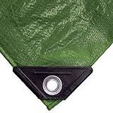 NOOR Abdeckplane EASY 90g/m² I 400 x 500 cm I Allzweckplane für Schutz vor Witterung I Ideal geeignet für die Abdeckung im Garten I UV-stabilisiert, beidseitig beschichtet, wasserfest und abwaschbar