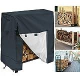 LZDseller01 Abdeckung für Kaminholz, für trockenes Holz, strapazierfähig, wasserfest, staubdicht, UV-beständig, Wie abgebildet, 122 cm