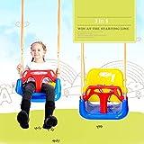 SHARESUN Kleinkinderschaukel, Sichere Hanging-Schaukelsitz Stuhl Für Baby, Säugling, Kleinkind, Kind-Spielwaren, Innen- Und Außen Hammock,Blau
