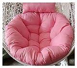 XiYou Gartenmöbel Stuhlkissen Verdicken Ei Stuhl Stuhl Kissen Hängesessel Pad für Gartenschaukel Hängende Ei Stuhl Korbsitz (Blau)