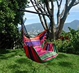 Holzenplotz Hängesessel Hängematte Hängestuhl aus Baumwolle mit 2 Kissen 4 Größen lieferb. Größe XXL 291