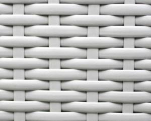 Polyrattan als Material für einen Hängesessel
