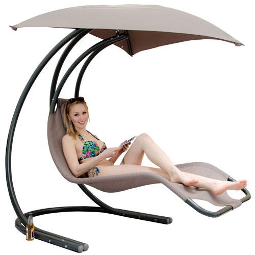 Ein moderner Lounge Hängesessel