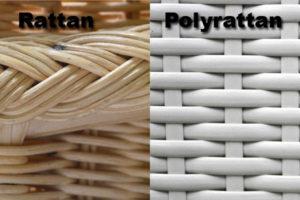 Unterschied zwischen Rattan und Polyrattan