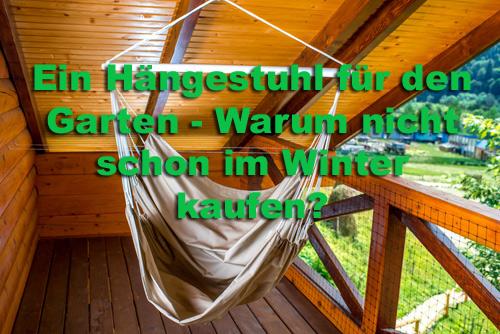 Hängestuhl Winter