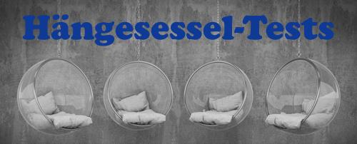 Hängesessel-Tests
