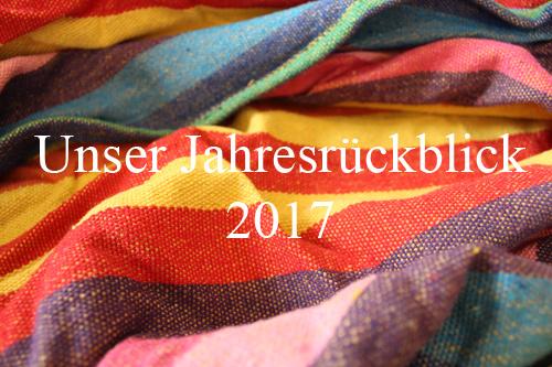 Unser Jahresrückblick 2017