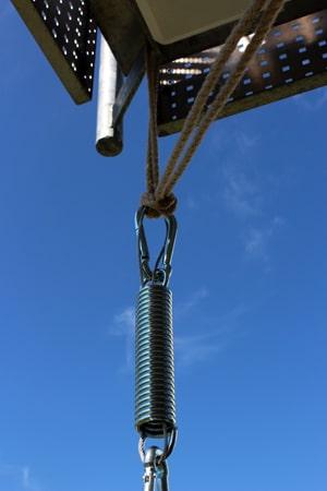 Wo kann man einen Hängesessel aufhängen?
